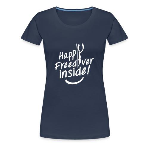 HappyFreediverInside - T-shirt Premium Femme