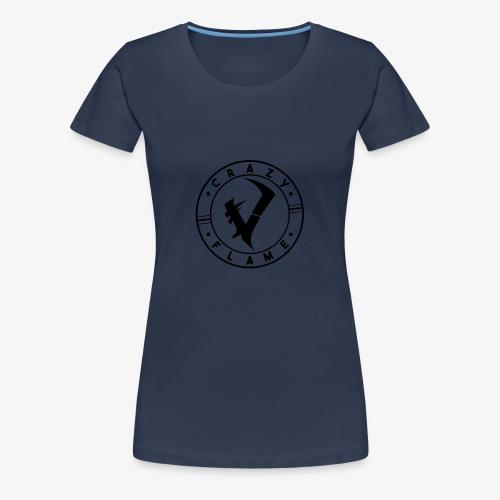 CraZyFlame Kreis Logo - Frauen Premium T-Shirt