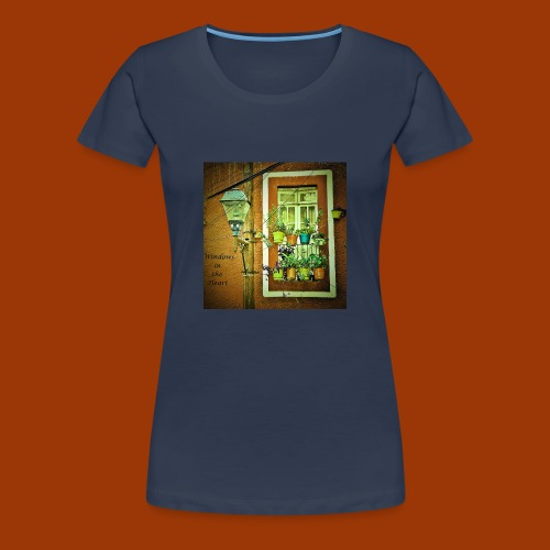 Windows in the Heart - Women's Premium T-Shirt