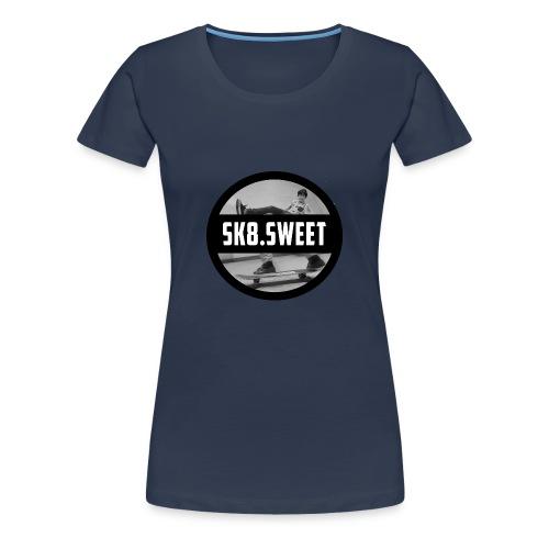 sk8 sweet mug - Vrouwen Premium T-shirt