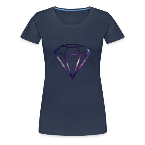 Galaxy Diamond - Premium T-skjorte for kvinner