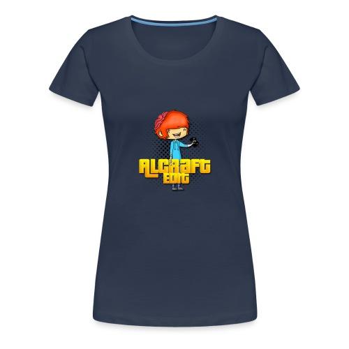 Diseño Simple AlCraft Edit - Camiseta premium mujer
