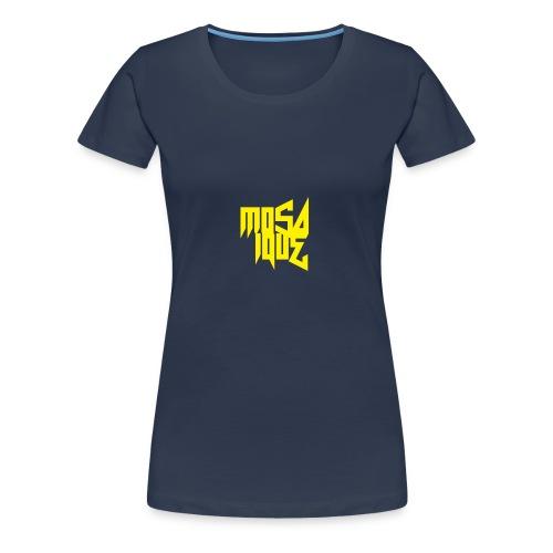 MosaiqueRecords BYellow - T-shirt Premium Femme