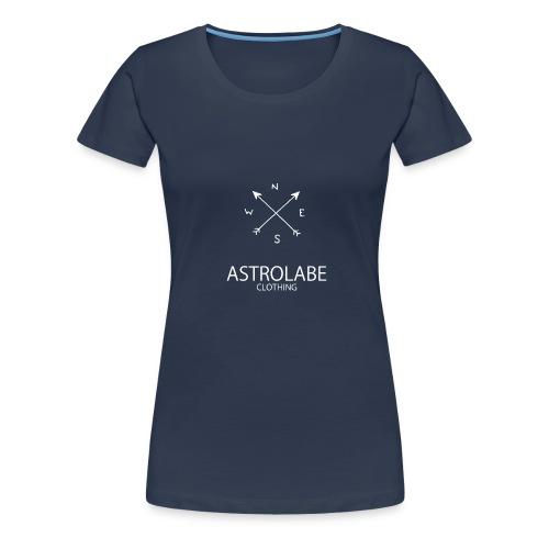 Tshirt Astrolabe Blanc - T-shirt Premium Femme