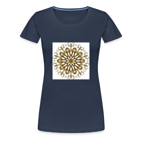 gold-filigree - Frauen Premium T-Shirt