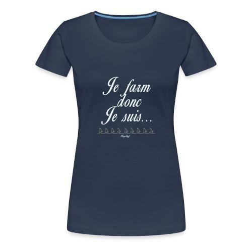 Sbires-modifiable-blanc - T-shirt Premium Femme