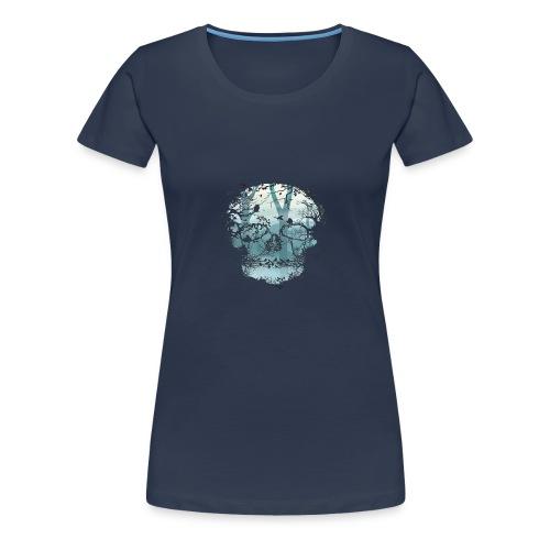 LEBEN UND TOD - Frauen Premium T-Shirt