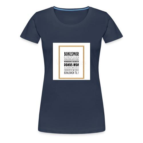 Bonusmor - Dame premium T-shirt