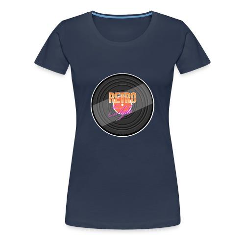 Retro Tshirt! - Frauen Premium T-Shirt