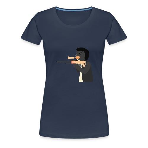 Logo - Dame premium T-shirt