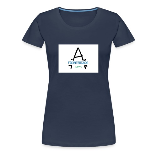 afronterizos - Camiseta premium mujer
