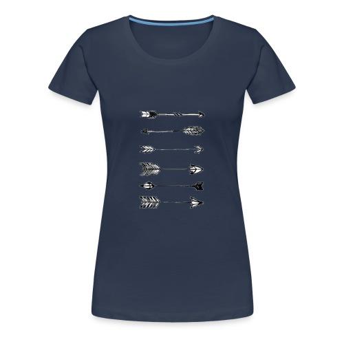 pijlen - Vrouwen Premium T-shirt