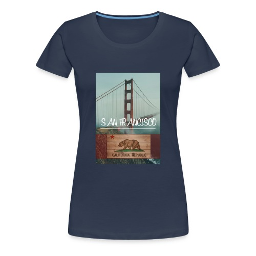 SAN_FRANCISCO - Camiseta premium mujer