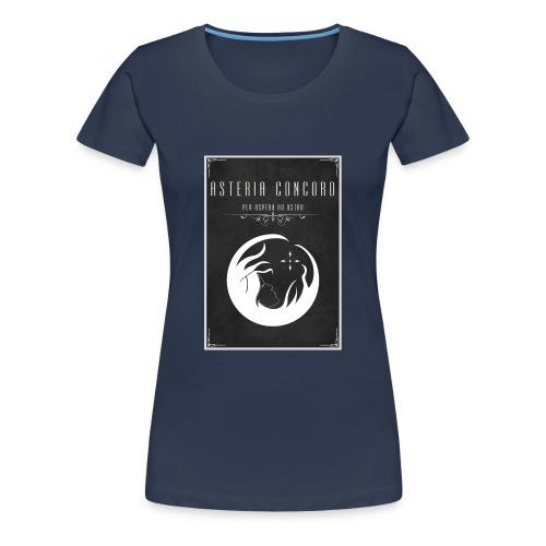 Asteria Concord - Per Aspera Ad Astra - Women's Premium T-Shirt