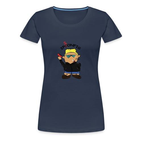 ipsonfig - Maglietta Premium da donna