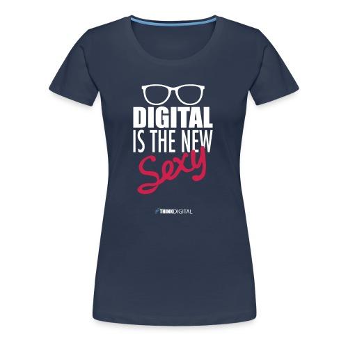 DIGITAL is the New Sexy - Lady - Maglietta Premium da donna