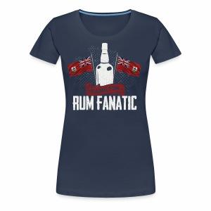 T-shirt Rum Fanatic - Hamilton, Bermuda - Koszulka damska Premium