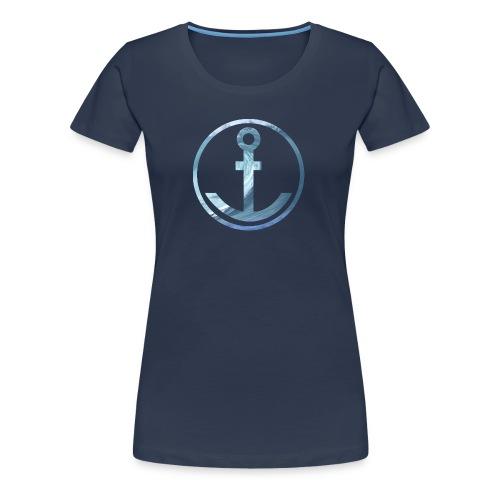 Anker Wellen - Frauen Premium T-Shirt