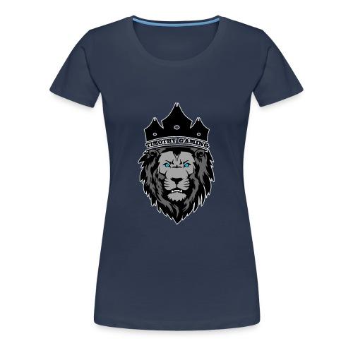 Timothy99NL, Witte Iijn Om Het Logo - Vrouwen Premium T-shirt