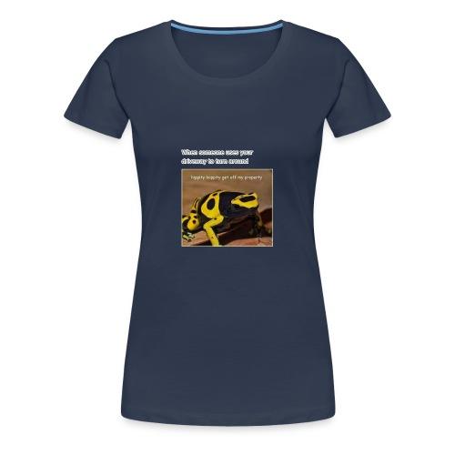 Hippity Hoppity - Women's Premium T-Shirt