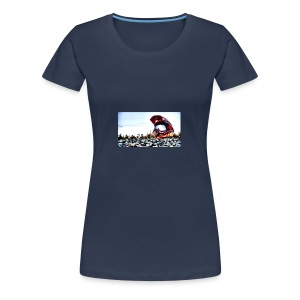 wallpaper casque - T-shirt Premium Femme