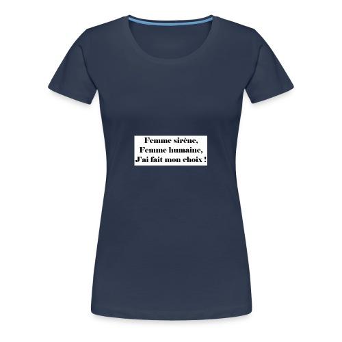 Ariel - T-shirt Premium Femme