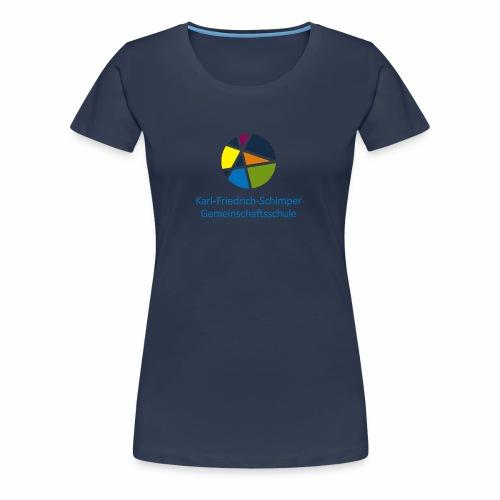 Logo KFS - Frauen Premium T-Shirt