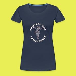 Logo_Prinzengarde_weiss - Frauen Premium T-Shirt