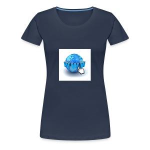 14821565-Internet-world-wide-web-concept-Earth-glo - Premium-T-shirt dam