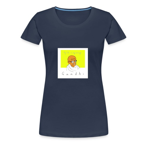 Gandhi - Frauen Premium T-Shirt