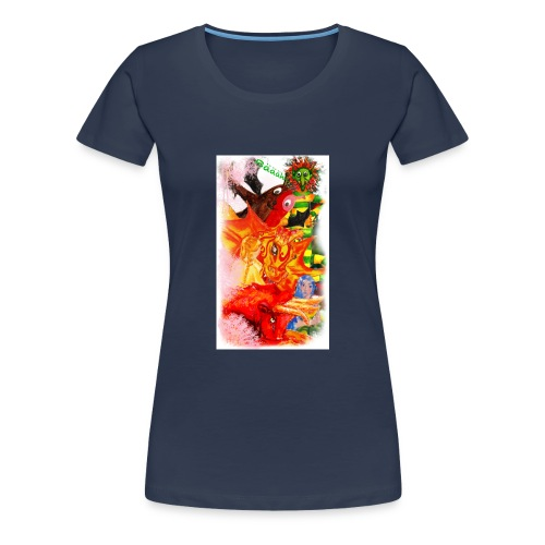 Die Helden aus Wampelonia - Frauen Premium T-Shirt