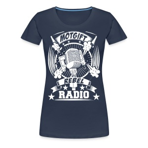 Motgift Rebel Radio - Premium-T-shirt dam