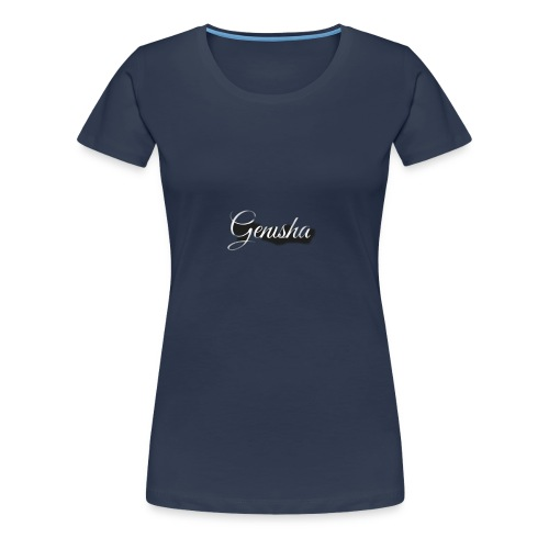 Genisha. (Men) - Vrouwen Premium T-shirt