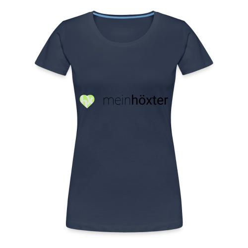 Mein Höxter Logo - Frauen Premium T-Shirt