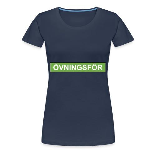 ÖVNINGSFÖR - Premium-T-shirt dam