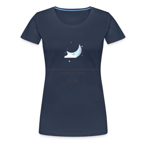 the moom - Women's Premium T-Shirt