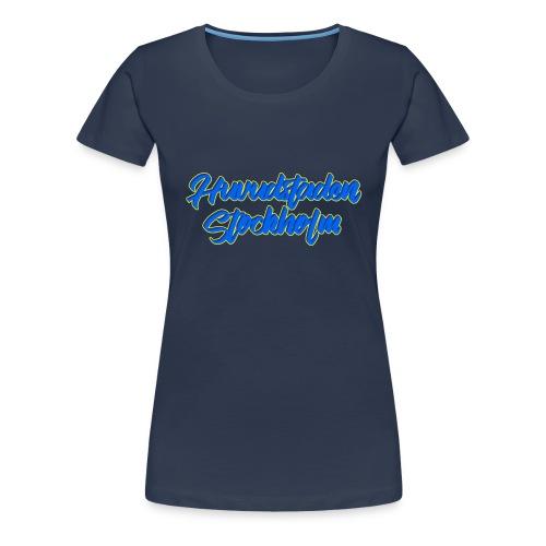 Huvudstaden STHLM Tröja - Women's Premium T-Shirt