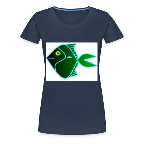 Green anglefish - Vrouwen Premium T-shirt