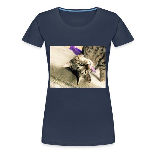 Gatito diseño de almuadilla para ratón - Camiseta premium mujer