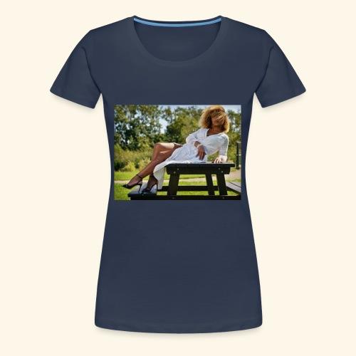 een foto van me mooie foto in Den Haag - Vrouwen Premium T-shirt