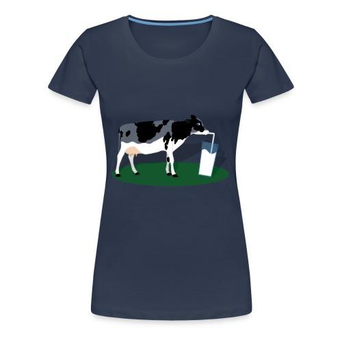 RECHARGING COW - Maglietta Premium da donna