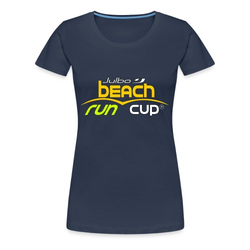 SPREADSHIRT_Atelier_Beach_run_v3_-1- - T-shirt Premium Femme