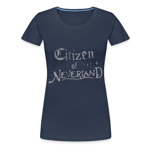 Citizen of Neverland - Women's Premium T-Shirt
