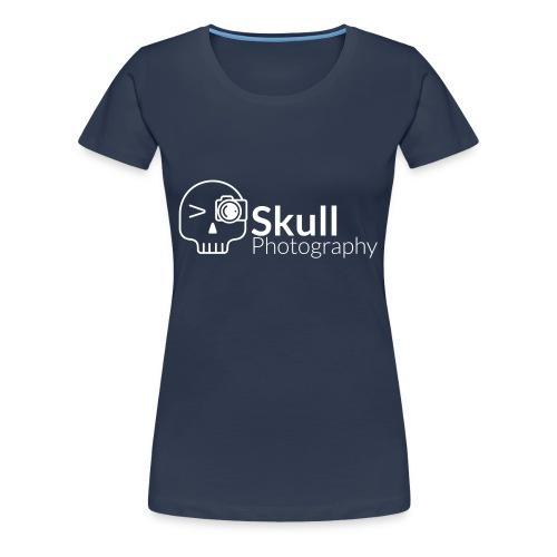 Skull Photography Weisses Logo - Frauen Premium T-Shirt