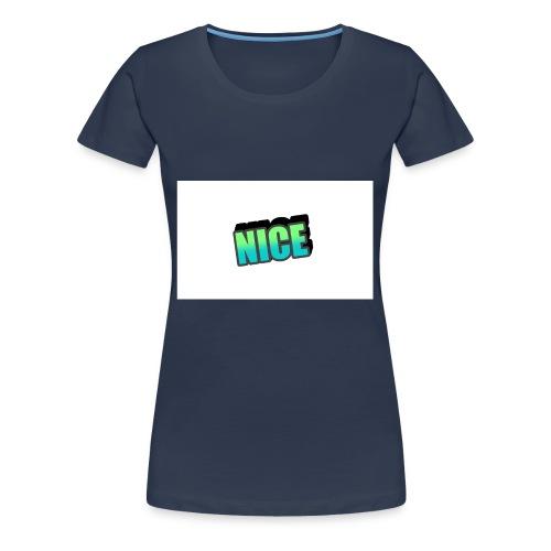 NICE DESIGNER : GAMERROKOTV - Frauen Premium T-Shirt