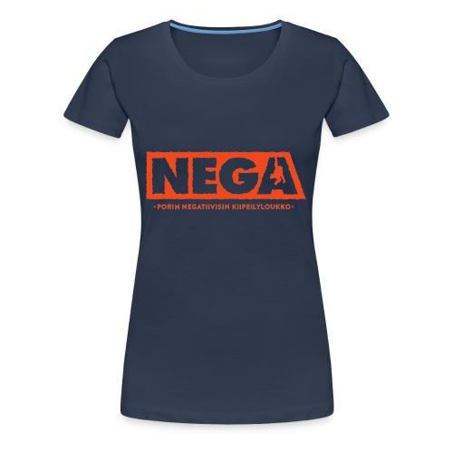 Huppari peruslogo Miehet - Naisten premium t-paita