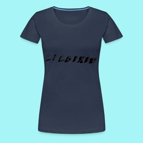 Lil Dixie 3D Logo - Women's Premium T-Shirt