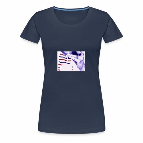 Français et fière de l'être - T-shirt Premium Femme
