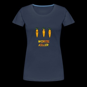 Wortel Killer [Kids Premium T-Shirt] - Vrouwen Premium T-shirt