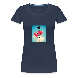 let my love you 1 - Vrouwen Premium T-shirt